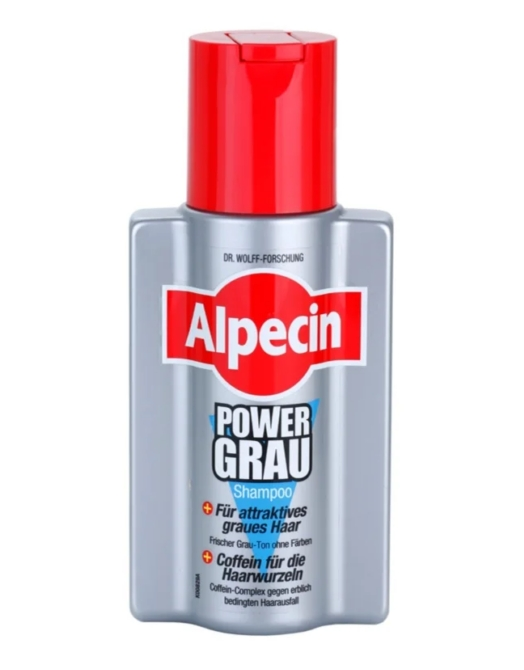 Alpecin sampon 200ml Power Grau